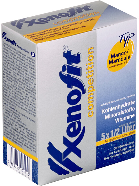 Xenofit Competition Carbohydrate Drink Mango-Maracuja 5 x 42g